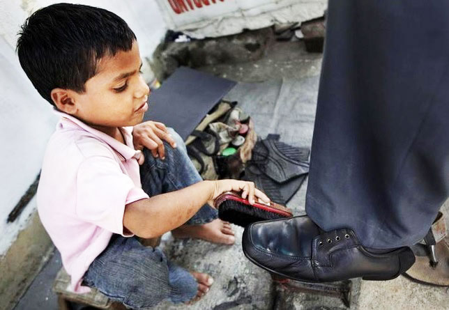 Despite government efforts and work of various NGOs, child labour continues in India. Photo: Millennium India Education Foundation