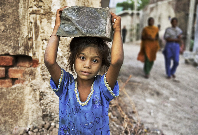 Many child labourers are employed in the informal economy. Photo source: Metro Vaartha