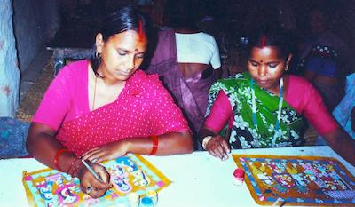 Janakpur_Handicraft_Centre_Nepal_Weaving